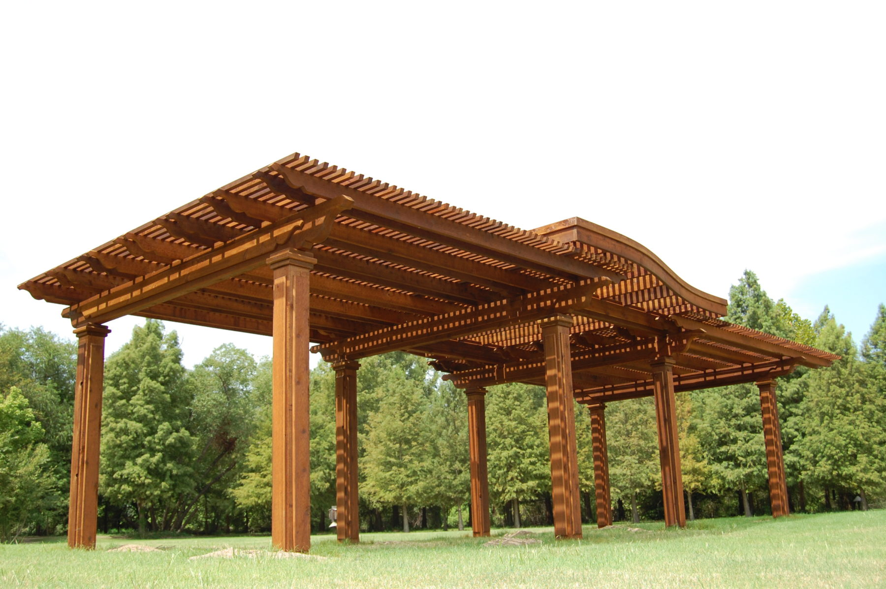 Multi level shade structures custom patio designs for Shade structures