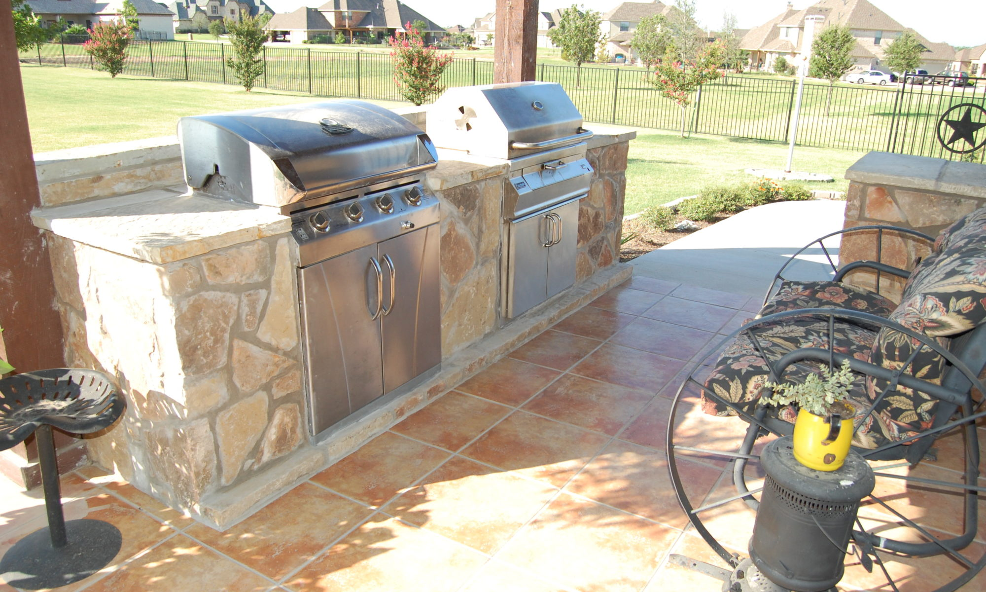 outdoor kitchens ? custom patio designs ? forney, tx - Outdoor Kitchens And Patios Designs