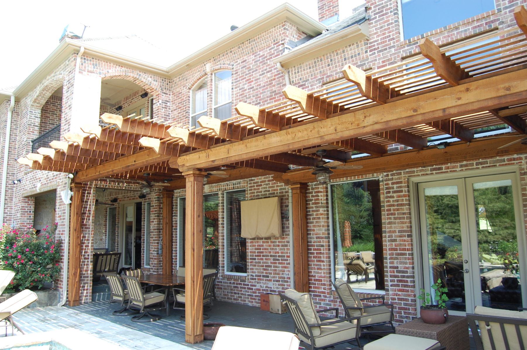 Superieur Louver Style Shade Structures