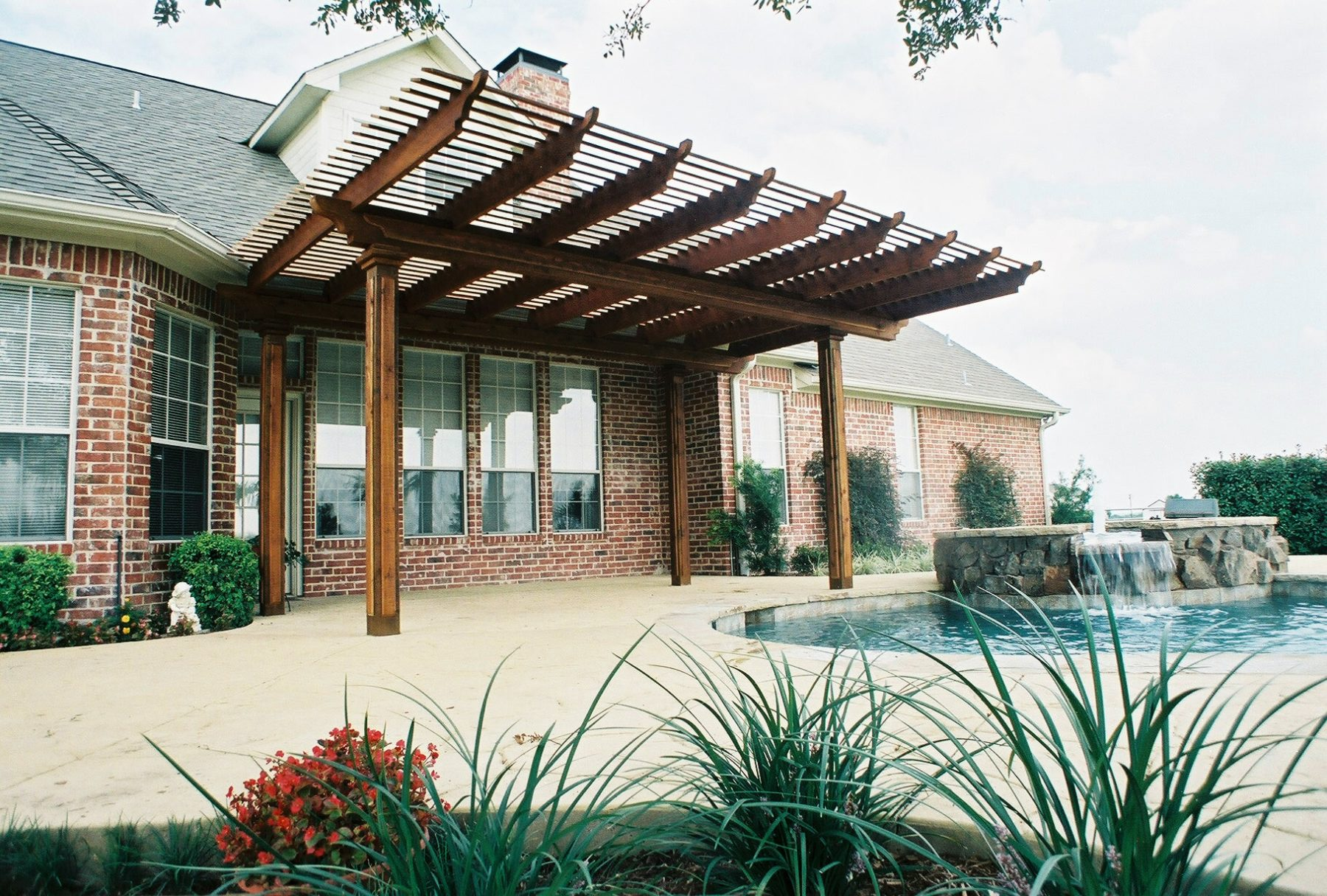 Louver-Style Shade Structures – Custom Patio Designs ...